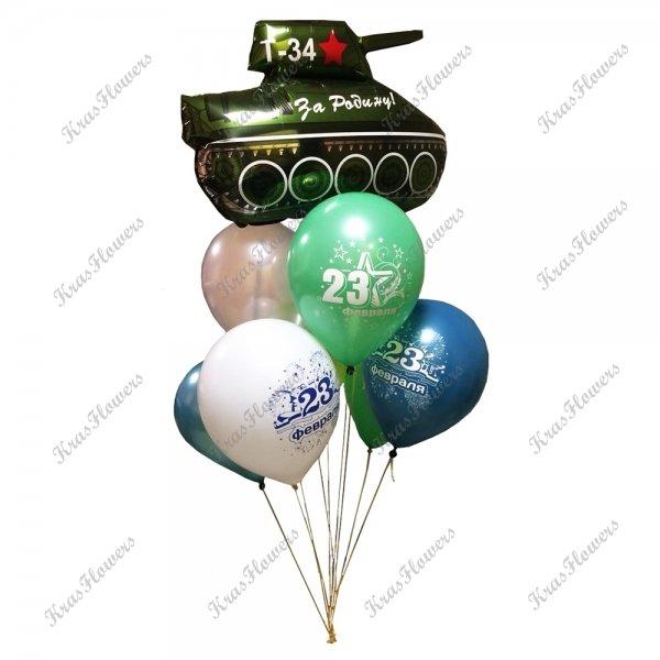 Воздушные шарики к празднику