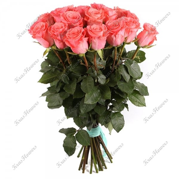 Букет из коралловых роз Amsterdam