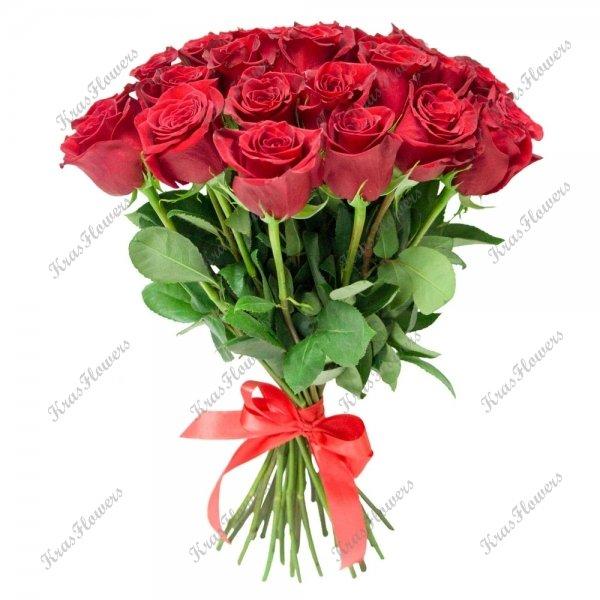 Эквадорские розы 50см