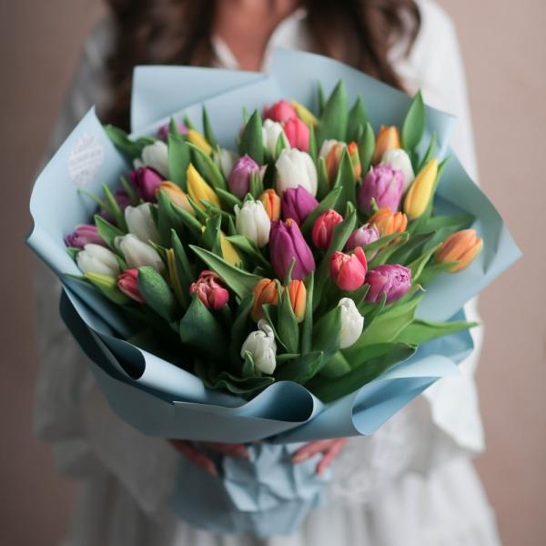 Акция: Тюльпаны микс